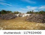 landscape of lee pee waterfall...   Shutterstock . vector #1179324400