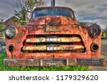Rusty Pick Up Truck In A Junk...