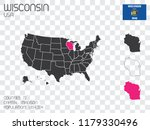 a united states of america... | Shutterstock .eps vector #1179330496