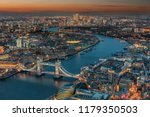 aerial view of london  from the ... | Shutterstock . vector #1179350503