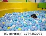 asian chinese little girl... | Shutterstock . vector #1179363076