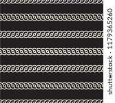 vector seamless rounded... | Shutterstock .eps vector #1179365260