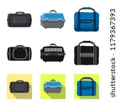 vector design of suitcase and... | Shutterstock .eps vector #1179367393