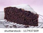 Chocolate Cake On A Baking Rack ...