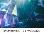 abstract blue background.... | Shutterstock . vector #1179380323