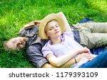 guy and girl dreamy sleepy... | Shutterstock . vector #1179393109