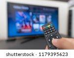 multimedia streaming concept.... | Shutterstock . vector #1179395623