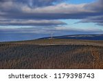 transmitter in the taiga.... | Shutterstock . vector #1179398743