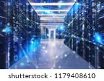 server farm with network... | Shutterstock . vector #1179408610