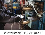 metallurgy heavy industry.... | Shutterstock . vector #1179420853