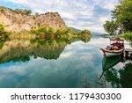 dalyan canal view. dalyan is... | Shutterstock . vector #1179430300