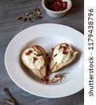 baked rustichomemade  pears... | Shutterstock . vector #1179438796