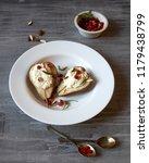 baked rustichomemade  pears... | Shutterstock . vector #1179438799