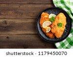 homemade breaded german weiner... | Shutterstock . vector #1179450070
