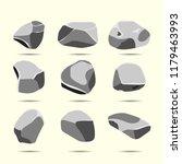 cartoon flat illustration a set ... | Shutterstock .eps vector #1179463993