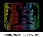 Rainbow Dot Basketball Team