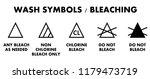 laundry bleaching symbols.... | Shutterstock .eps vector #1179473719