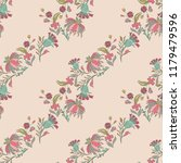 seamless pattern with vintage...   Shutterstock .eps vector #1179479596