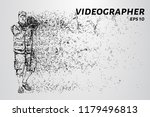 the videographer of particles | Shutterstock .eps vector #1179496813