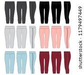 vector template for womens... | Shutterstock .eps vector #1179497449