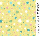 vector seamless pattern. simple ... | Shutterstock .eps vector #1179503680