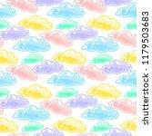 abstract vector seamless... | Shutterstock .eps vector #1179503683