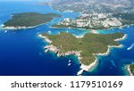 aerial bird's eye view photo... | Shutterstock . vector #1179510169