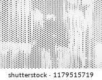 white metal perforated shit... | Shutterstock . vector #1179515719