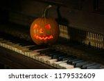 decorations on halloween... | Shutterstock . vector #1179532609