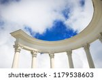 portico with columns against...   Shutterstock . vector #1179538603