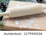 cooking christmas cookies... | Shutterstock . vector #1179540106