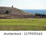 scenery on the adriatic...   Shutterstock . vector #1179555163