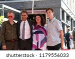 Small photo of LOS ANGELES - SEP 13: Eric McCormack, family at the Eric McCormack Star Ceremony on the Hollywood Walk of Fame on September 13, 2018 in Los Angeles, CA