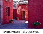 typical colorful colonial...   Shutterstock . vector #1179565903