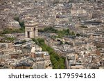elevated view of the buildings... | Shutterstock . vector #1179594163