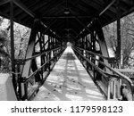 kansas bridge after snow and... | Shutterstock . vector #1179598123