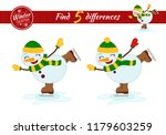 find differences.  educational... | Shutterstock .eps vector #1179603259