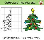 complete the picture of a...   Shutterstock .eps vector #1179637993