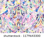 boho kaleidoscope abstract... | Shutterstock . vector #1179643300
