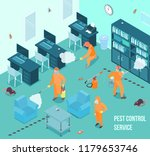 people from pest control... | Shutterstock .eps vector #1179653746