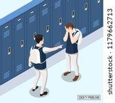 society problems isometric... | Shutterstock .eps vector #1179662713