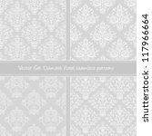 damask floral textile pattern....   Shutterstock .eps vector #117966664