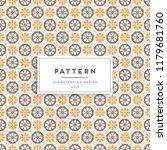 scandinavian seamless pattern.... | Shutterstock .eps vector #1179681760