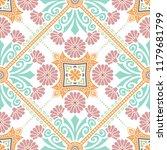 decorative tile pattern design. ... | Shutterstock .eps vector #1179681799