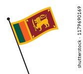 flag of sri lanka   sri lanka... | Shutterstock .eps vector #1179690169