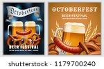 beer fest october german banner ... | Shutterstock . vector #1179700240
