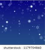 beautiful christmas background... | Shutterstock .eps vector #1179704860