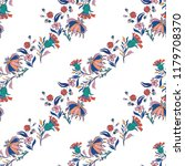 seamless pattern with vintage...   Shutterstock .eps vector #1179708370