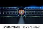 3d illustration. data storage... | Shutterstock . vector #1179713860
