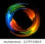 vivid abstract background.... | Shutterstock . vector #1179715819